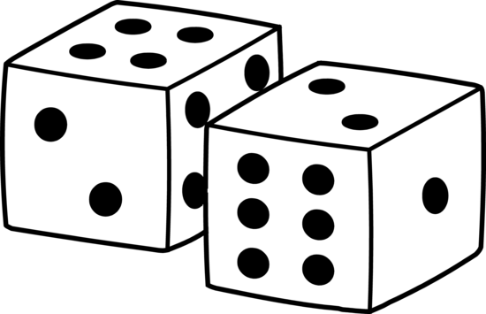 550x355 Free Dice Clipart Pictures
