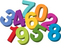 250x184 Numbers Clipart 0 Clipart Panda