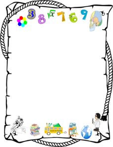 228x297 Number Clipart Border