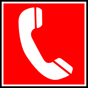 300x300 Emergency Numbers Clipart