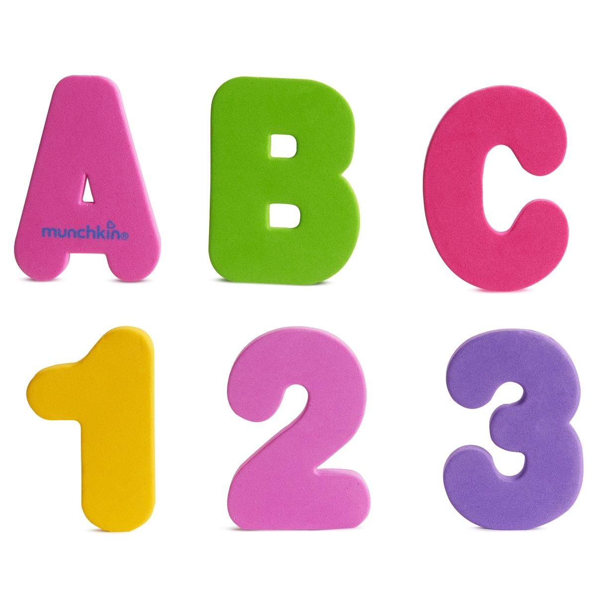 1200x1200 Bath Letters Amp Numbers Pastel, 36 Count
