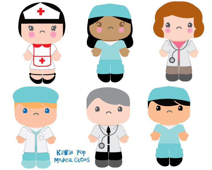 720x576 Cute Kids Clipart Kawaii Clip Art Nurse Doctor Clipart