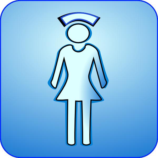 600x600 Nurse Icon Clip Art