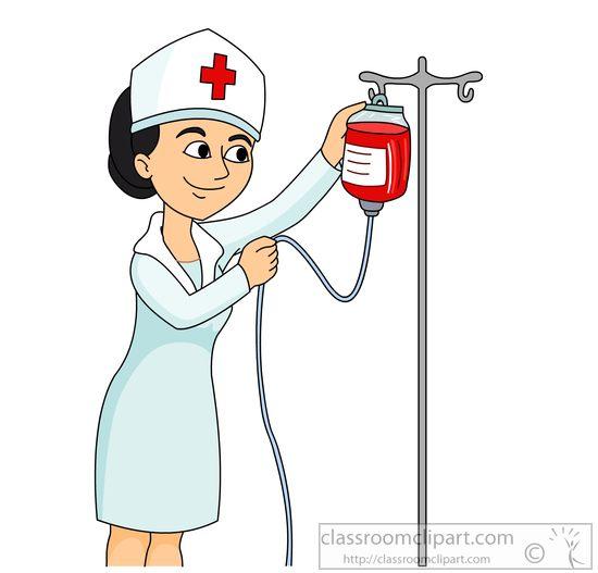550x527 Nurse Images Clip Art