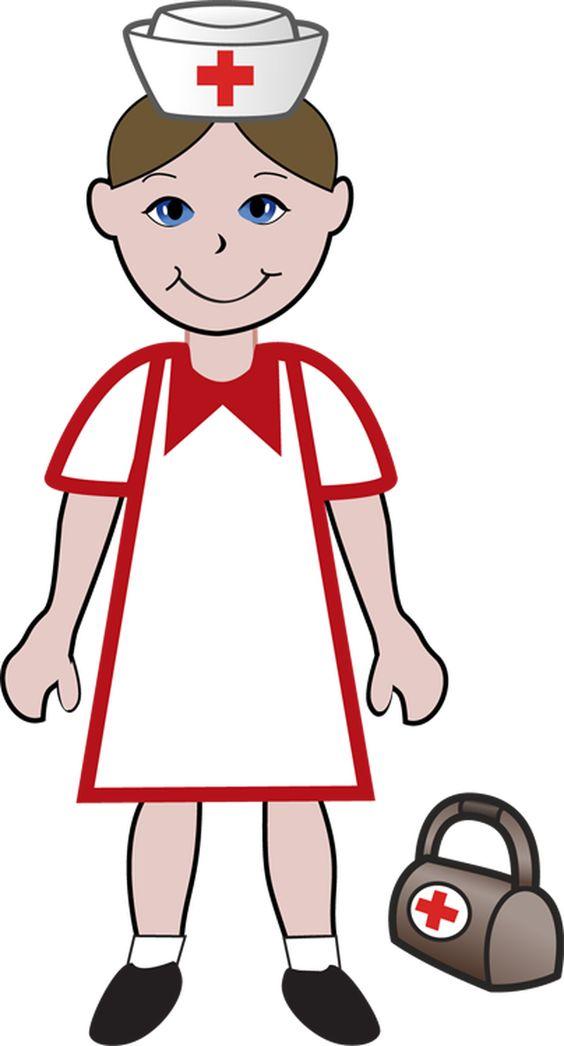 564x1046 Nurse Pictures Clip Art