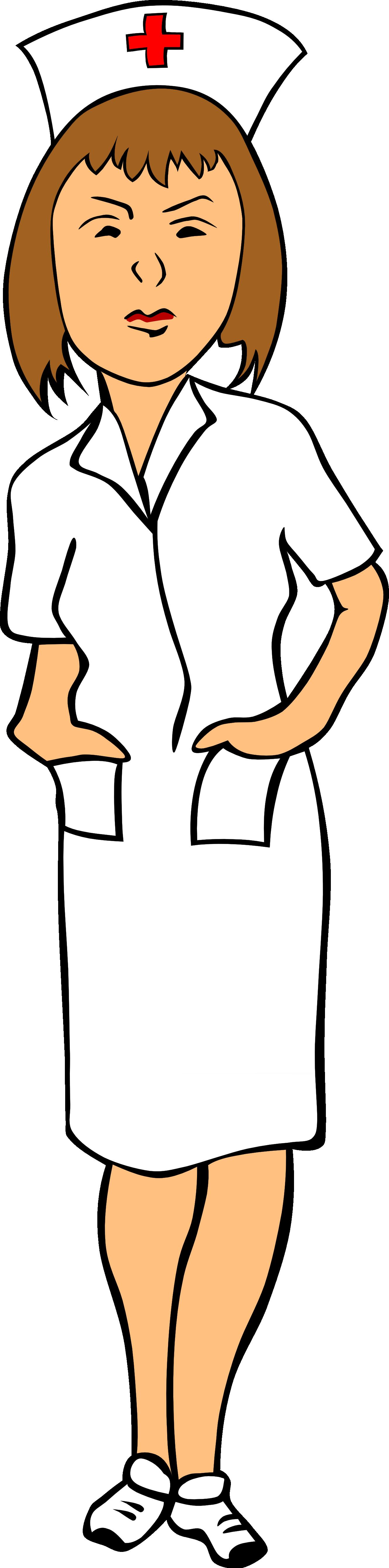 1331x5358 Cartoon Clipart Nurse