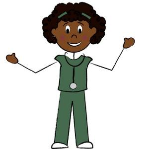300x300 Cartoon Nurses Clipart