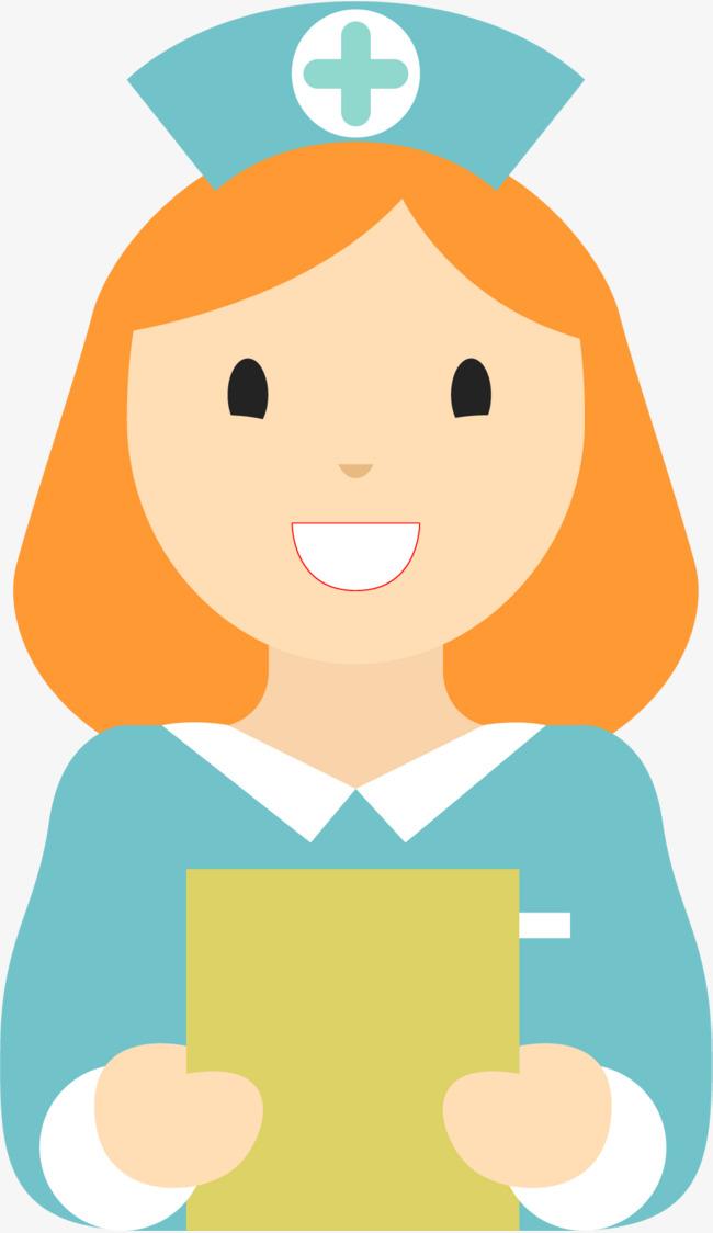 650x1124 Smiling Nurse, Cartoon Nurse, Nurse, Female Nurses Png And Vector