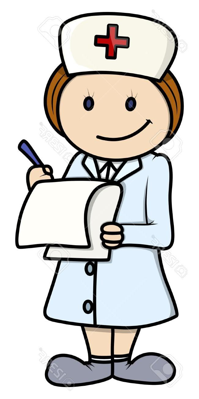 651x1300 Best 15 Nurse Vector Cartoon Illustration Stock Patient Design
