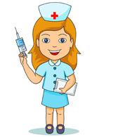 161x195 Clip Art Nurse With Blood Clipart