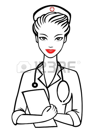 327x450 Doctor Writing Prescription Illustration Royalty Free Cliparts