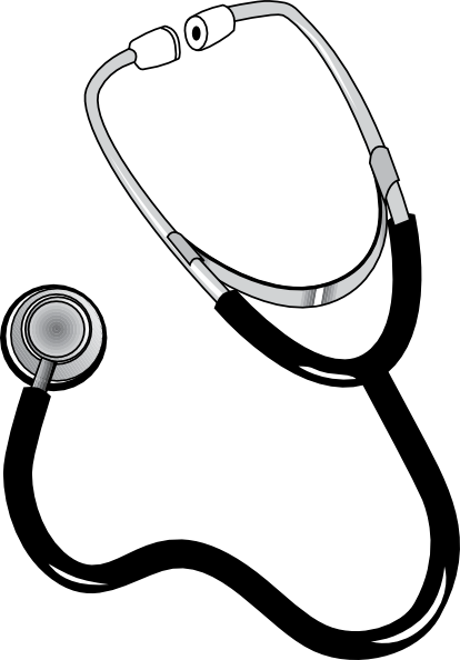 414x594 Nurse With Stethoscope Clip Art Cliparts
