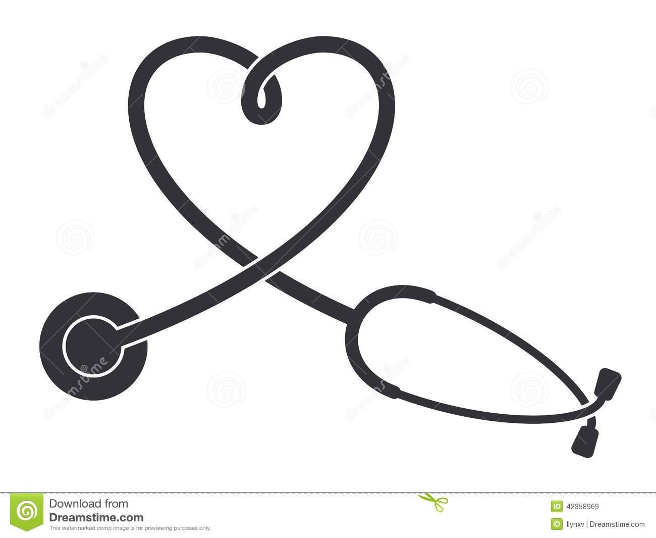 1300x1065 Stethoscope Heart Clipart Best Nursing Stethoscope