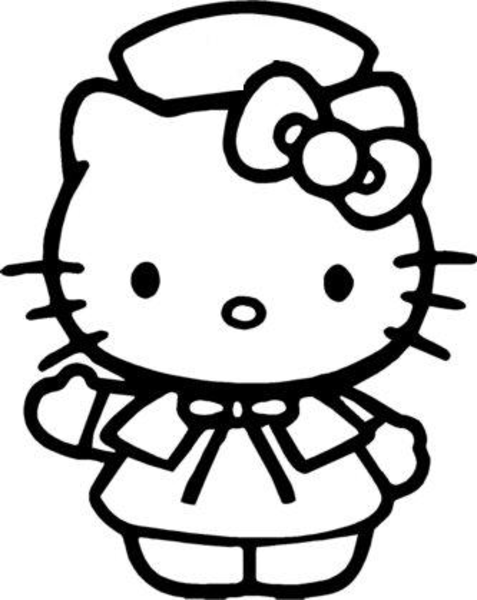 477x600 Cartoon Kitty Free Images