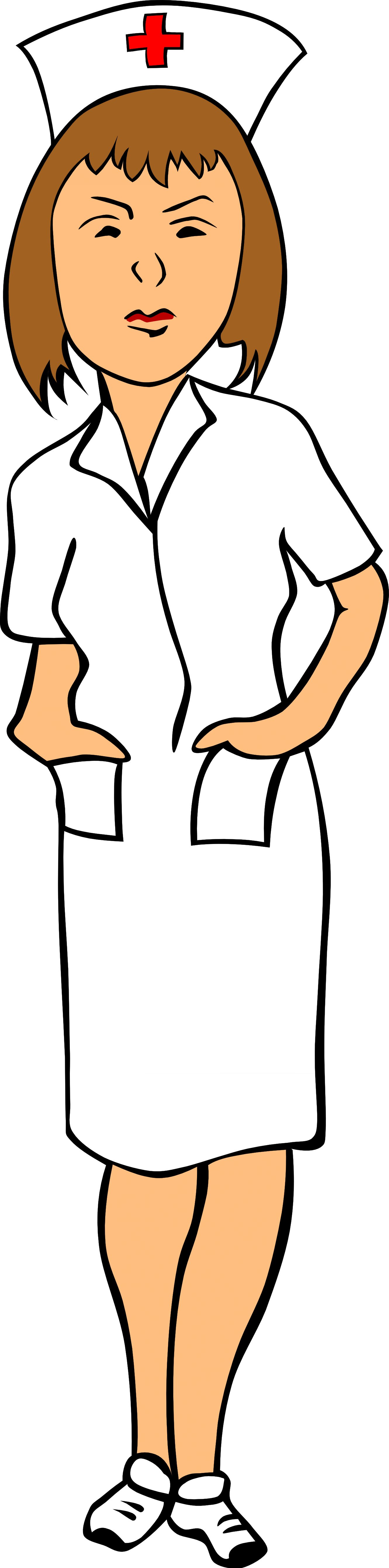 1331x5358 Doctor Nurse Cliparts 203503