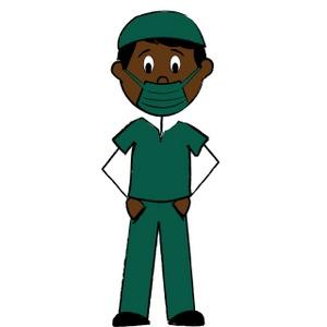 300x300 Nurse Clipart Image