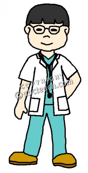 300x590 Nurse Clipart Boy
