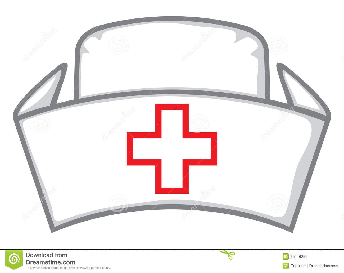 1300x1035 Cartoon Nurse Hat