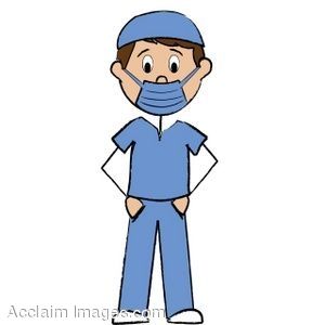 300x300 Clip Art Of A Male Nurse Stick Figure