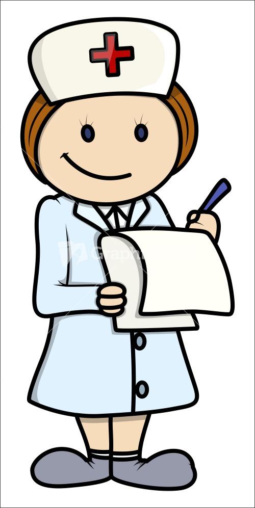 500x997 Nurse Clip Art