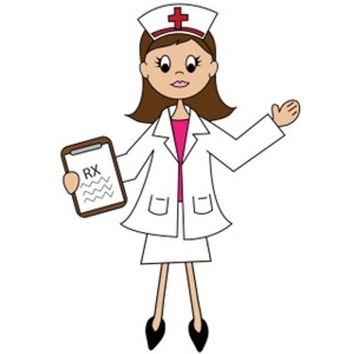 500x500 Nurse Clipart