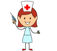 195x175 Nurse Clipart Nurse Needle