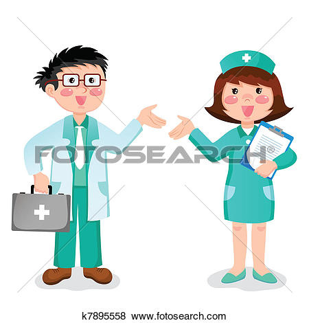 450x470 Nurse Clipart