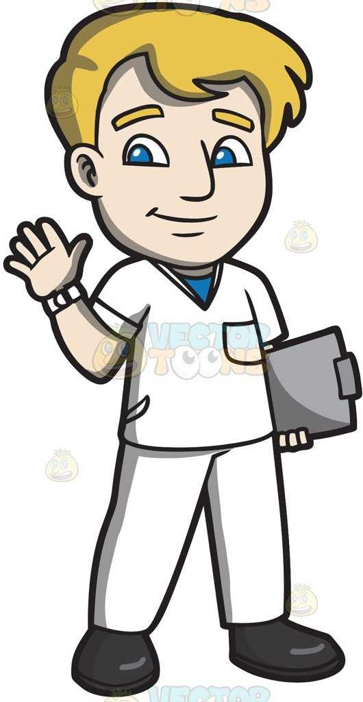 530x1024 Registered Nurse Clipart
