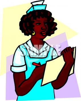 284x350 Royalty Free Nurse Clipart