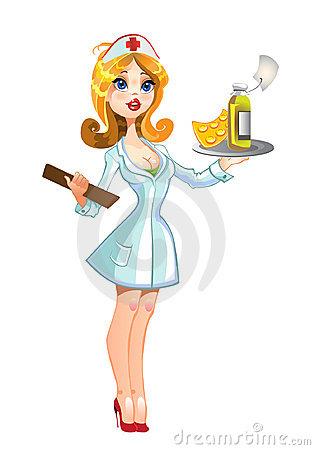 315x450 Sexy Nurse Clipart