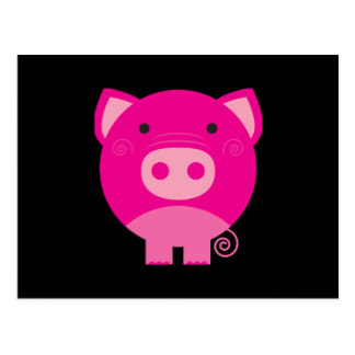 324x324 Cute Piggy Postcards Zazzle