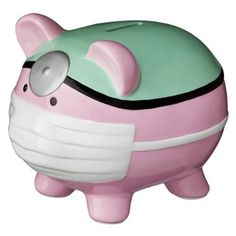 236x236 Giant Piggy Bank With Earmuffs. My Favourite Piggy Banks Http