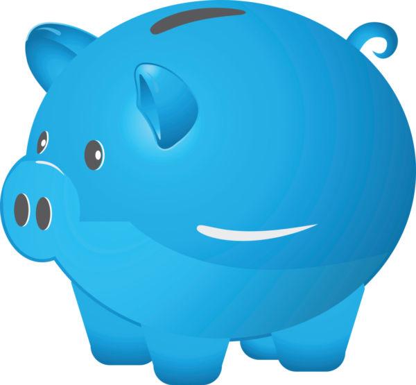 600x555 Piggy Bank Clipart