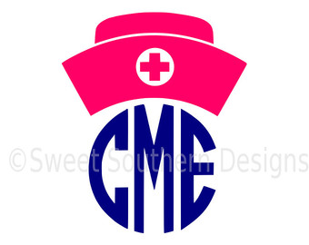 340x270 Nurse Hat Svg Etsy