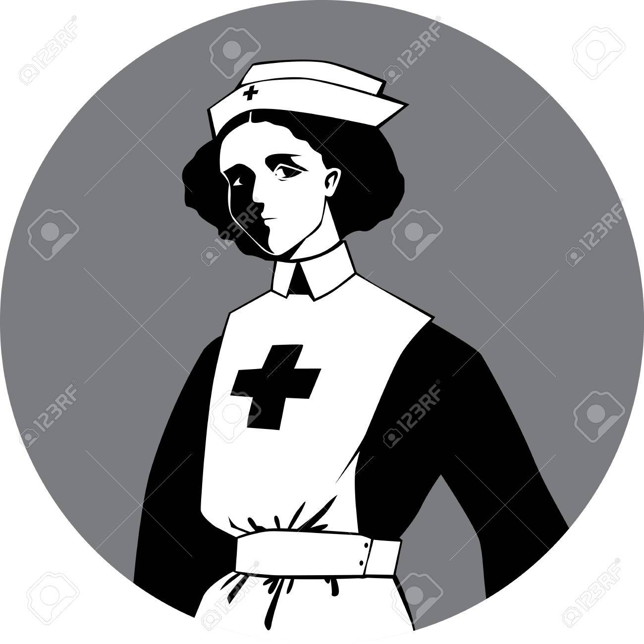 1300x1300 World War One Nurse Clipart Royalty Free Cliparts, Vectors,
