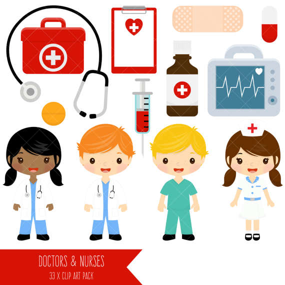 570x570 Doctor And Nurse Clipart Cute Doctors And Nurses Clip Art