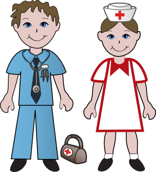 639x707 Free Clip Art Of Doctors And Nurses Doctor And Nurse Projects