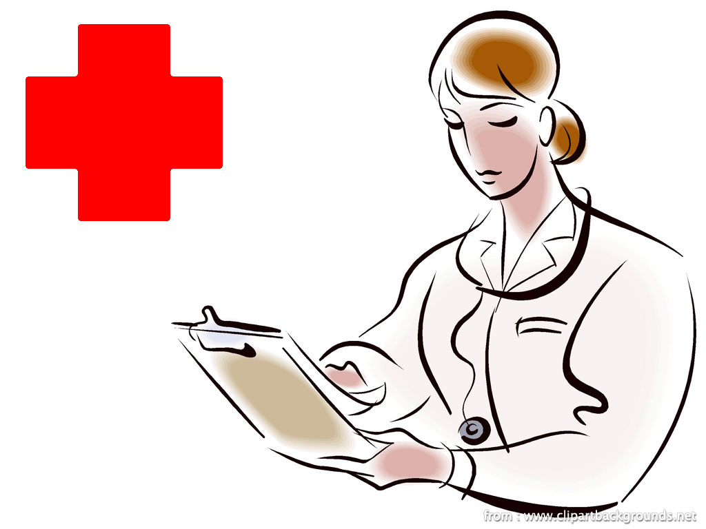 1024x768 Nurse Clip Art Work In College Cliparts
