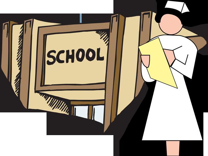675x508 Room Clipart School Nurse