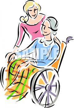 240x350 Nursing Home Visit Clip Art Cliparts