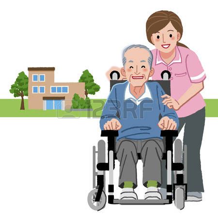 450x450 Old Clipart Nursing Home