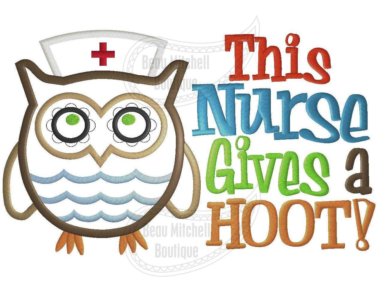 1275x1020 Nurse Owl Clipart