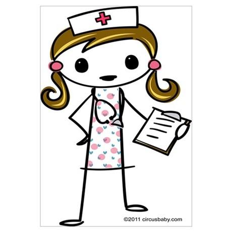 460x460 Nurse Wall Art Cafepress