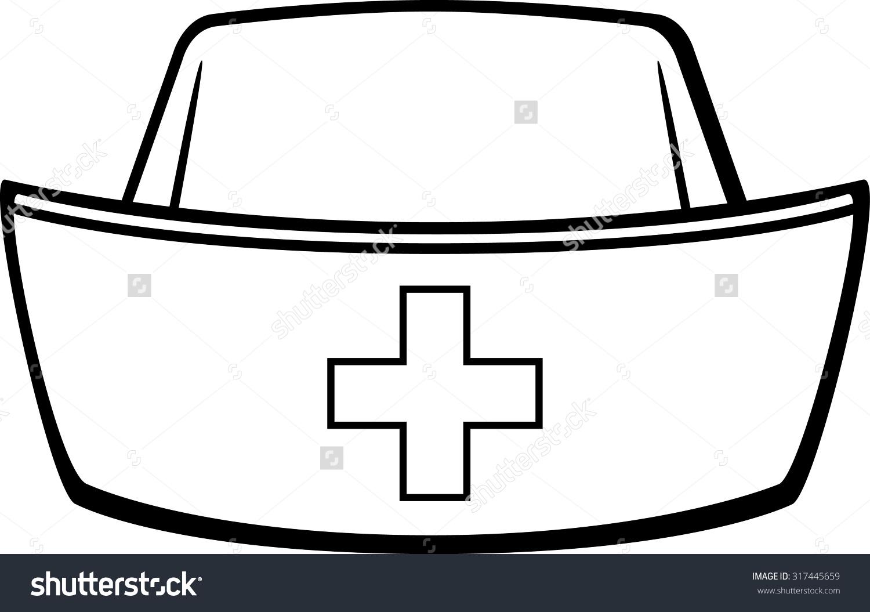 1500x1055 Nurse Hat Clipart