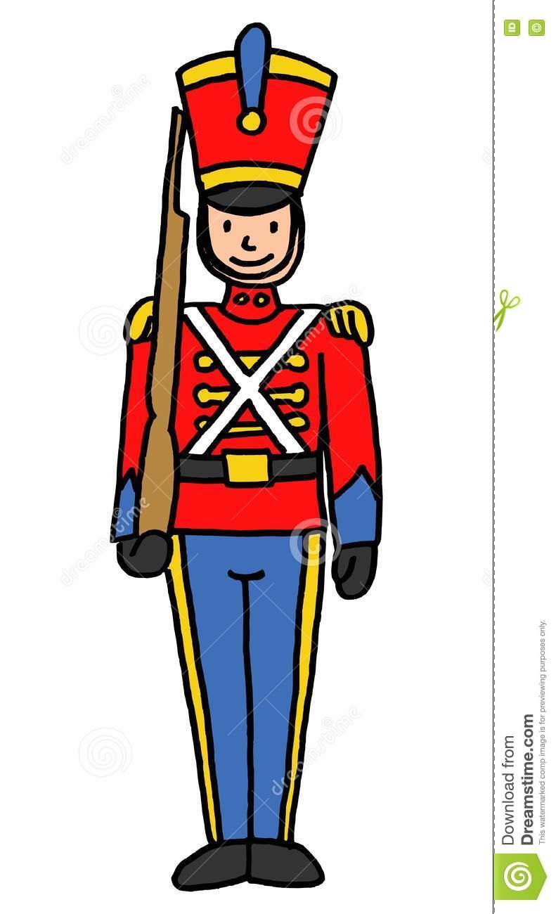 791x1300 Drawn Soldier Toy Soldier