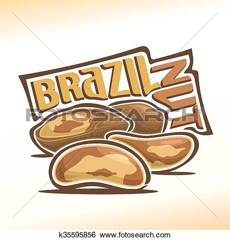 450x470 Brazil Nuts Clipart
