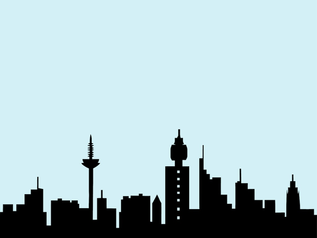 1024x767 Cityscape Nyc Skyline Clip Art Image