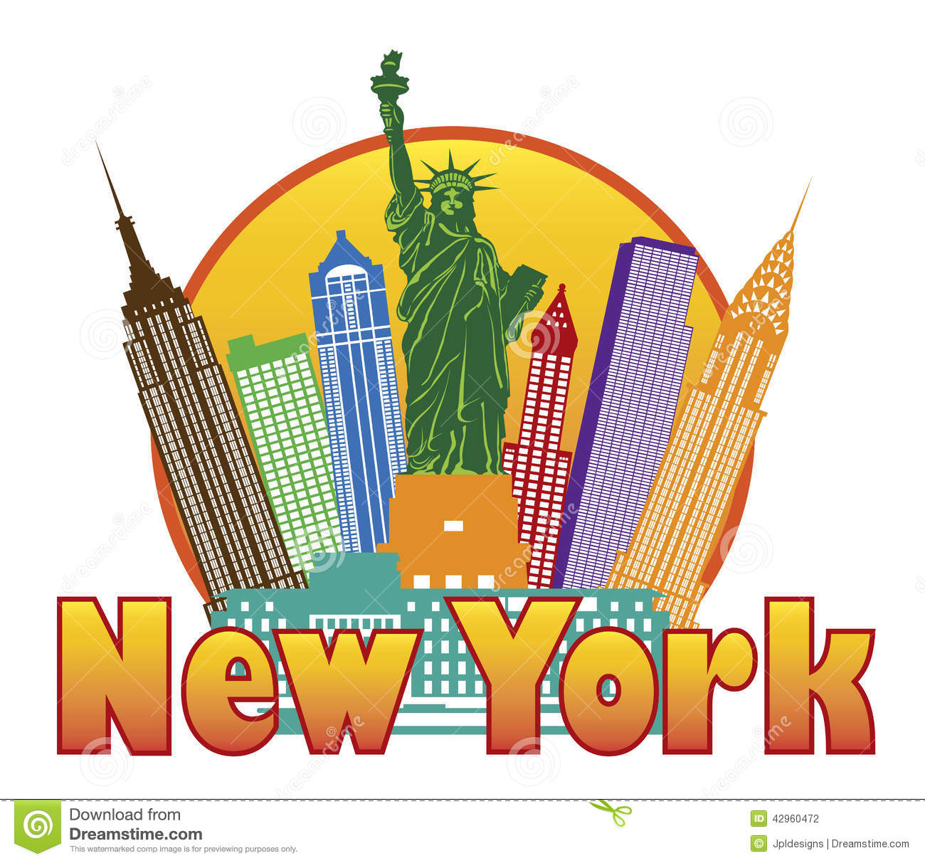 1300x1213 New York Clipart