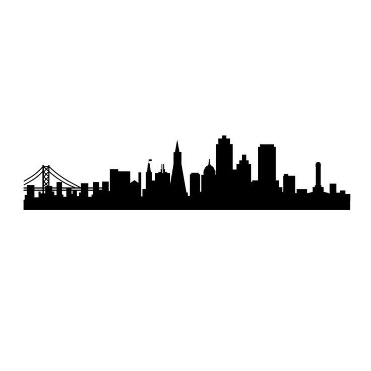736x736 Best New York Skyline Silhouette Ideas New