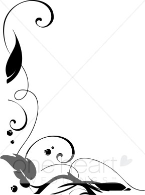 289x388 Oak Leaf Border Clipart
